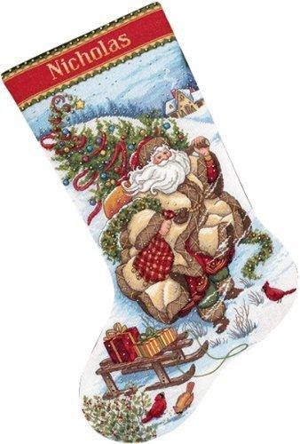 (Dimensions Christmas - Santa's Journey Stocking)