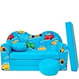 scalesport Kindersofa blau