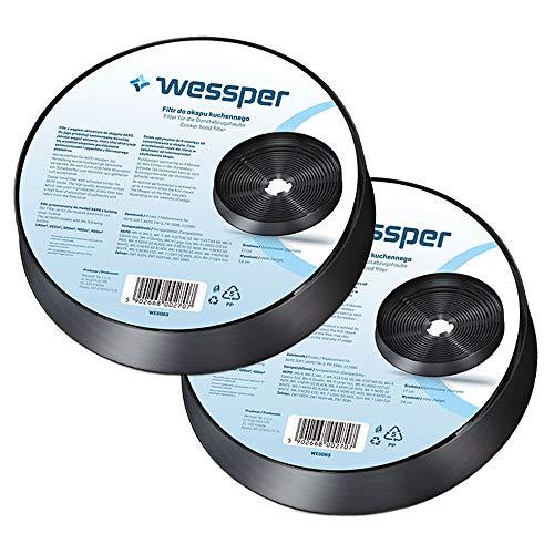 Wessper Aktivkohlefilter für Akpo WK-4 NERO ECO (2 Stück)