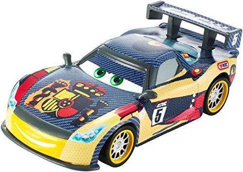 Preisvergleich Produktbild Mattel DHM79 - Disney Pixar Cars - Carbon Racers - Die Cast Modell - Miguel Camino [UK Import]