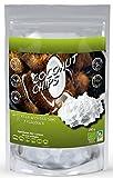 NATURSEED Chips de coco ecológico Sin azúcares añadidos, 100% natural, sin aditivos ni conservantes. Snack (250GR)