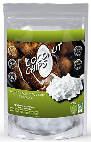 NATURSEED - Chips De Coco Ecológico 250gr - Sin Azúcares Añadidos - 100% Natural Sin Aditivos Ni Conservantes
