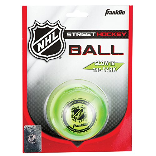 franklin-sports-glow-in-the-dark-street-hockey-ball-puck-high-density-durable
