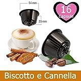 16 Cápsulas Cappuccino Speculoos Nescafé Dolce Gusto - Capuchino Galletas y Canela Soluble Compatibles Nescafé Dolce Gusto - Café Kickkick
