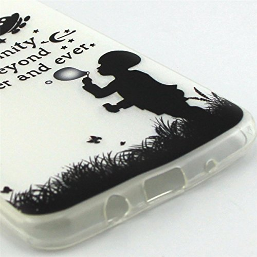 ANNNWZZD Samsung Galaxy J5 2016 TPU Hülle Case Transparent Handyhülle Schutzhülle Exklusives Vintage-Blumenmuster wunderschön und stilvoll TPU Crystal Clear Case Backcover Bumper Slim case Perfekt Pas A09
