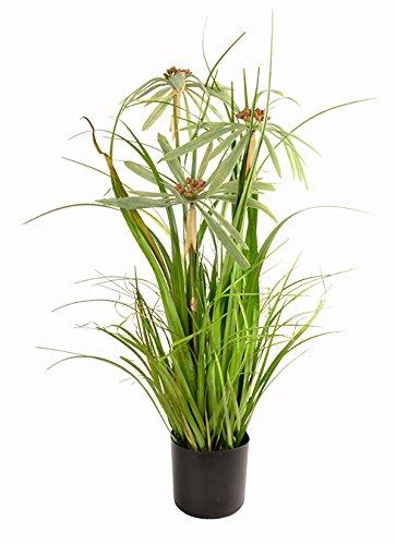 sport-line erba bund - pianta artificiale, 76 cm, erba artificiale, vaso swan 76 cm - ii
