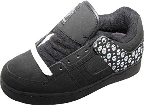 Osiris Skateboard Schuhe Tron Kids Black/Maxx/ Skull, Schuhgrösse:33 (Skull Schuhe Kids)