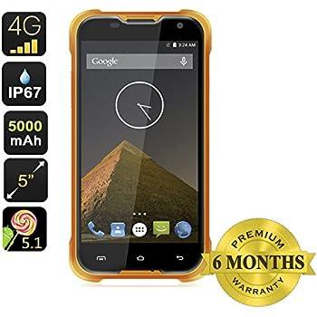 Blackview BV5000 5,0 pollici Android 5.1 impermeabile / antiurto / antipolvere sbloccato Smartphone (arancione)