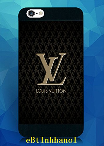 Lived Iphone 6 Plus Coque, Iphone 6 Plus Coque Louis Fabulous Vuitton LV Logo Skin Back Shell Case Cover for Iphone 6 Plus (5.5 Inch) - [Anti Scratch]