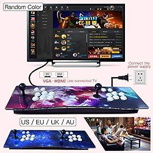 iBellete 1147 in Einem Haus Arcade Moonlight Box 5S Street Fighter Doppelspieler Kampfmaschine Rocker Griff Spiel