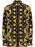Versace Luxury Fashion Homme A84050A232646A7008 Noir Chemise | Printemps_Été