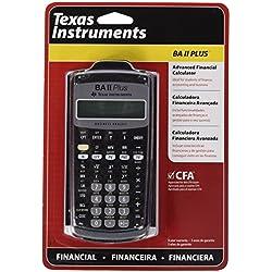 TEXAS INSTRUMENTS calculatrice financière TI-BA II Plus
