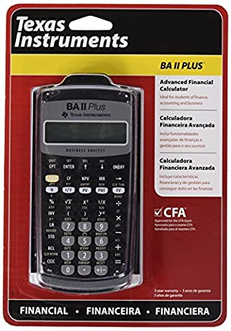 Texas Instruments BAII Plus Erweiterter