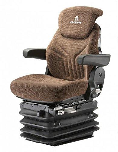 Preisvergleich Produktbild Grammer Maximo Comfort Stoff Braun MAX Schleppersitz Traktorsitz Sitz