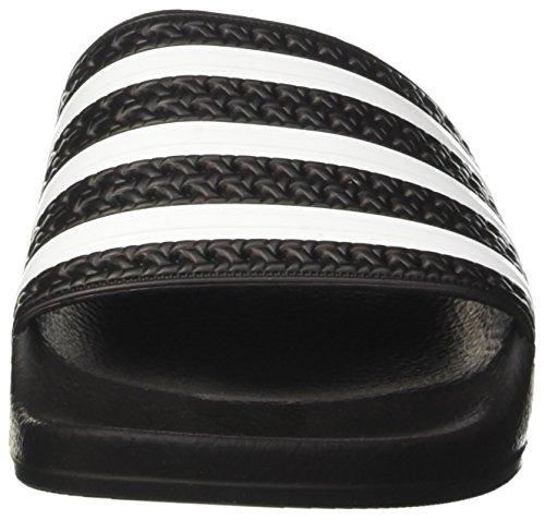 Adilette Originals Interno nucleo Noir Nero 647 Bianco Nero Mixte Sandales Adidas 280 Adulte qfTBB1