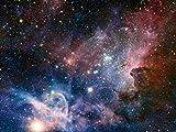 1art1 73071 Der Weltraum - Sternengeburt Im Carinanebel, 2-Teilig Fototapete Poster-Tapete 240 x 180 cm