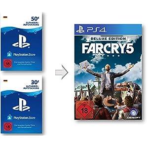 PSN Guthaben Aufstockung für Far Cry 5 Deluxe – PSN Guthaben Far Cry 5 Deluxe Edition | PS4 Download Code – deutsches Konto