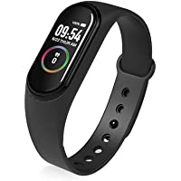 KTCOO M4 Smart Band Fitness Tracker Smart Watch for Mens Women Boys Girls Compatible with Android & iOS