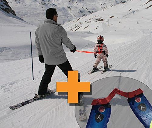 Skigurt für kinder + Ski-Klammern