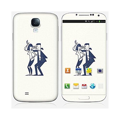 Sticker iPhone 6 et 6S de chez Skinkin - Design original : Shut up and dance par Ale Giorgini Skin Galaxy S4
