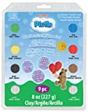 Polyform Sculpey Pluffy Clay Variety Packs, Primary