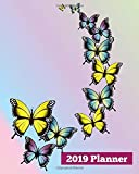 2019 Planner: Daily Weekly & Monthly Calendar Schedule Organizer To Do List (Butterfly) (V2)