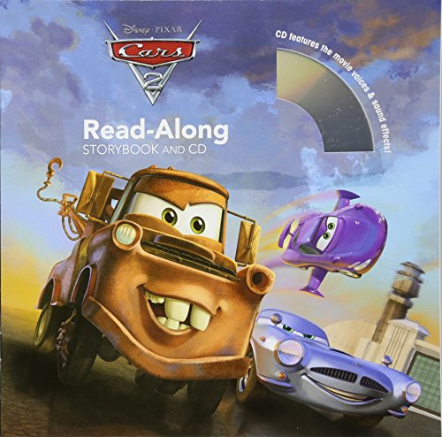 Cars 2 Read-Along Storybook (Read-Along Storybook and CD)