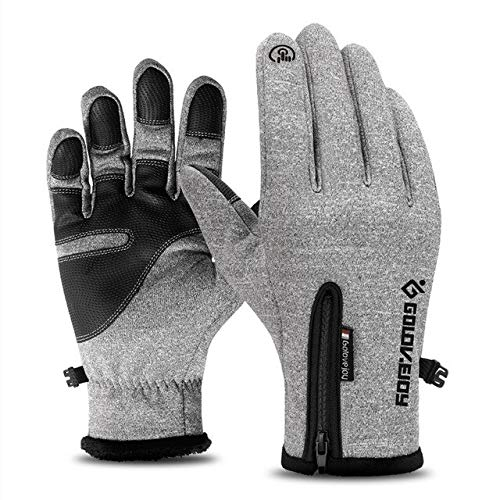 Bruce Dillon Motorcycle Gloves Motorcycle Gloves Winter warm Lining Winter Waterproof Touch Screen Non-Slip Motorcycle Riding Gloves - A2 X XL -