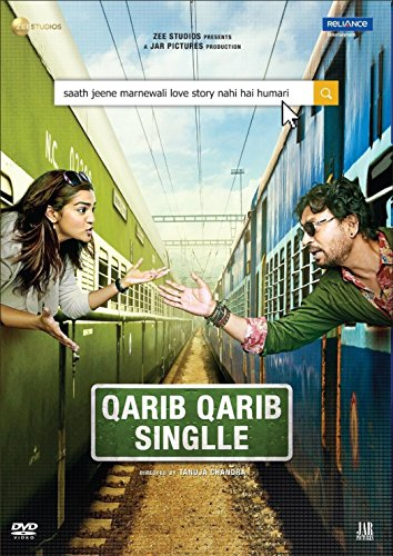 QARIB QARIB SINGLE Film ~ DVD ~ Bollywood ~ Irrfan Khan ~ Hindi mit englischem Untertitel ~ India ~ 2018 ~ Original RELIANCE DVD ~ verkauf nur über Bollywood 24/7