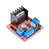 MAKER AND HACKER L298N Dual H Bridge Motor Drive Controller Board Module