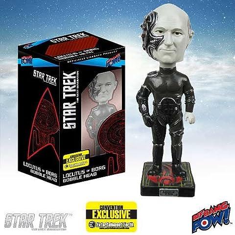 Star Trek - Bobble Head Locutus of Borg 2014 Convention Exclusive 18 cm