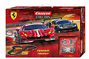 Carrera- Evolution Ferrari Trophy Circuito de Coches, Pista de 6.3m (20025230)