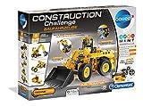 Clementoni 59030.8 - Construction Challenge - Baufahrzeuge
