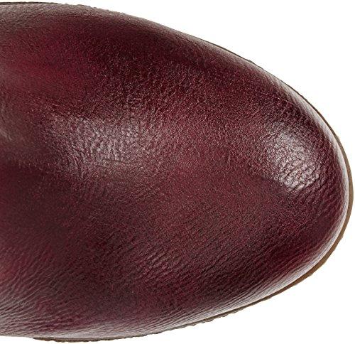 Mustang Damen 1083-509 Langschaft Stiefel Rot (55 Bordeaux)