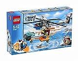 LEGO City 7738 - Helikopter der Küstenwache mit Rettungsinsel