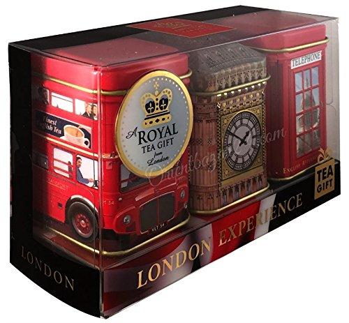 Tés ingleses - Mini Caddy Gift Set -
