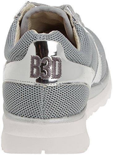 BASS3D - 041325, Scarpe sportive Donna Argento