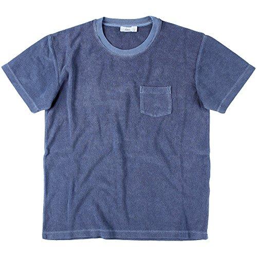 Closed Herren Frottee T-Shirt Indigo Blue, Größe XL