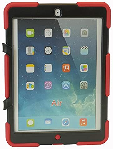 CHAMELEON CH-CM-IPA-RED CASE CHAMELEON COMMANDO IPAD AIR RED [1] (Epitome