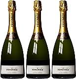 Pongracz Brut Chardonnay Sparkling Wine Non Vintage 75 cl (Case of 3)