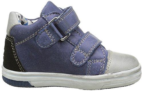 Noël Baby Jungen Mini Monky Lauflernschuhe Blau - Bleu (1 Bleu)