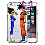 Custodie iPhone per Dragon Ball Z Super GT Case Cover - Design Ultimi Unique - Tutti i modelli iPhone - Brand New - Alta Qualita - Tournament Of Power - Goku Black Rose - Goku Blue - Gohan - Jiren - Vegeta Blue - DBS - DBZ - DBGT - Molti Disegni - MIM UK (iPhone 6/6s, Friends)