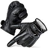 Black Snake® Security - Guantes de Arena de Cuarzo Defender 'De5' con protección contra Cortes Honeywell Spectra® Lvl 5, Unisex, Negro, Medium