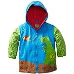 Stephen Joseph Rain Coat Size 110/116, DIN Blue