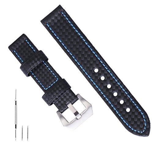 panerai armband armband lederarmband 22mm Uhr Lederriemen Leder für Männer