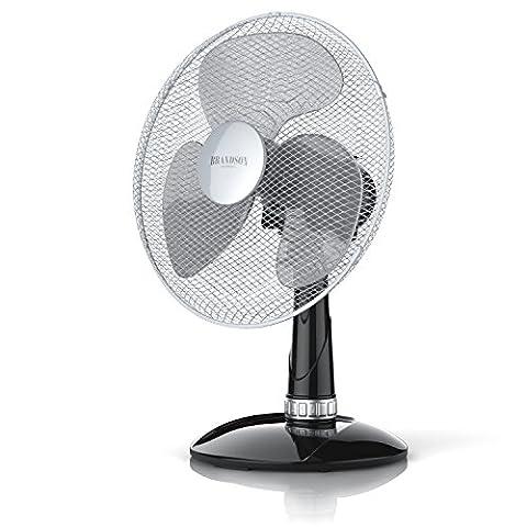 Brandson - Ventilateur de table avec 40W | 30 cm