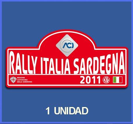 Ecoshirt N1-4PEC-Z4TS Aufkleber Stickers Italia Sardegna 2011 Dp536 Aufkleber Autocollants Adesivi Car Decals Rally Rallies