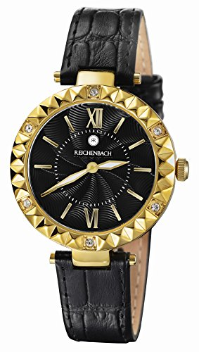 Reichenbach Woman Quartz Watch Loos Black 35 mm