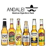 Andale! Pack de Cervezas Mexicanas - Cervezas de Mexico (Mejico) - Desperados Mojito,...