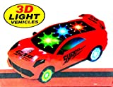 #5: TanMan 1:20 3D Light Racing Car With Music For Kids ( BATTERIES NOT INCLUDED ) ( multi colr )
